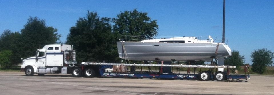 Hauling Sailboats by Truck